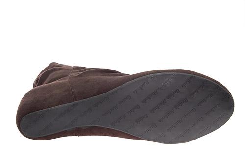 Antilop čizme na platformu, braon