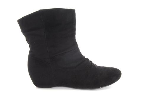 Antilop čizme na platformu, crne