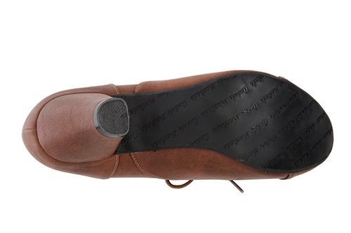 Zapatos estilo Oxfors en Soft Camel