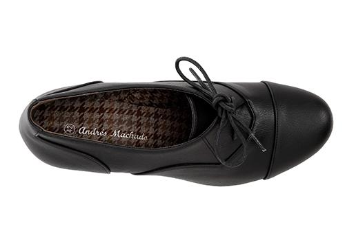 Zapatos estilo Oxfors en Soft Negro