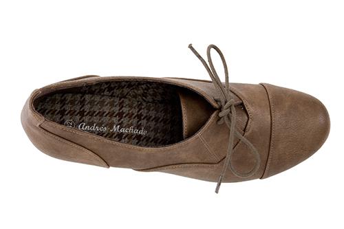 Zapatos estilo Oxfors en Soft Siena