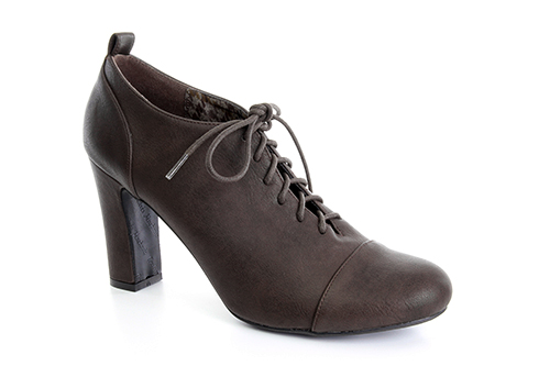Zapatos Oxford en Soft Marron.