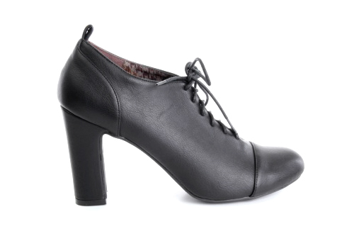 Zapatos Oxford en Soft Negro.