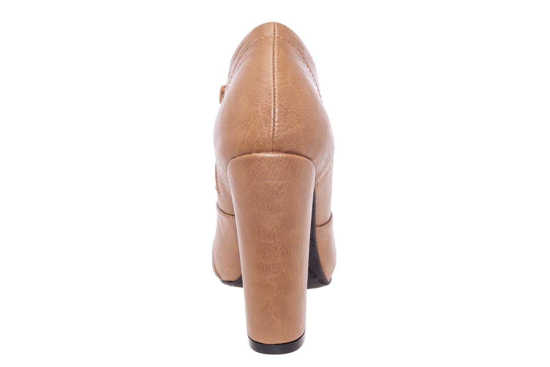 Zapatos Abotinados en Soft Camel