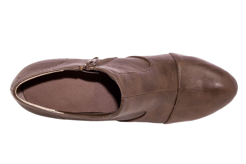Zapatos Abotinados en Soft Marron