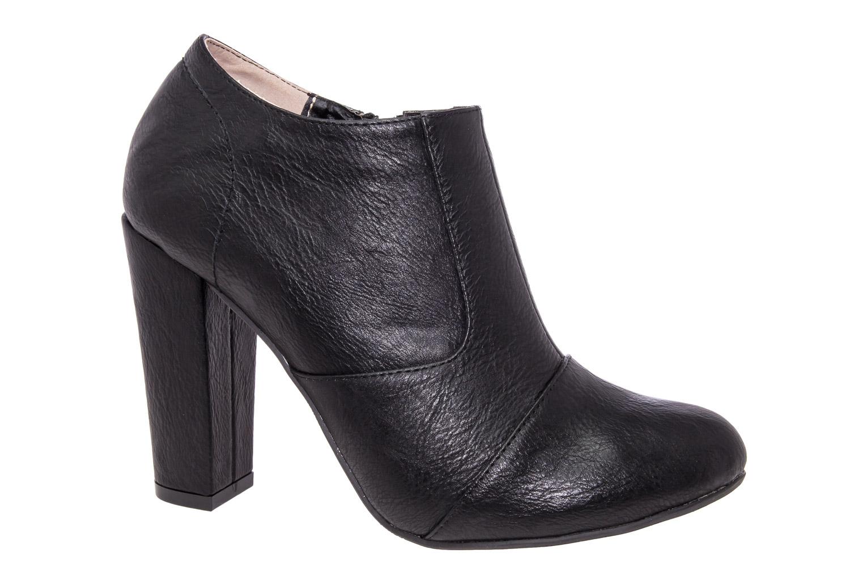 Zapatos Abotinados en Soft Negro