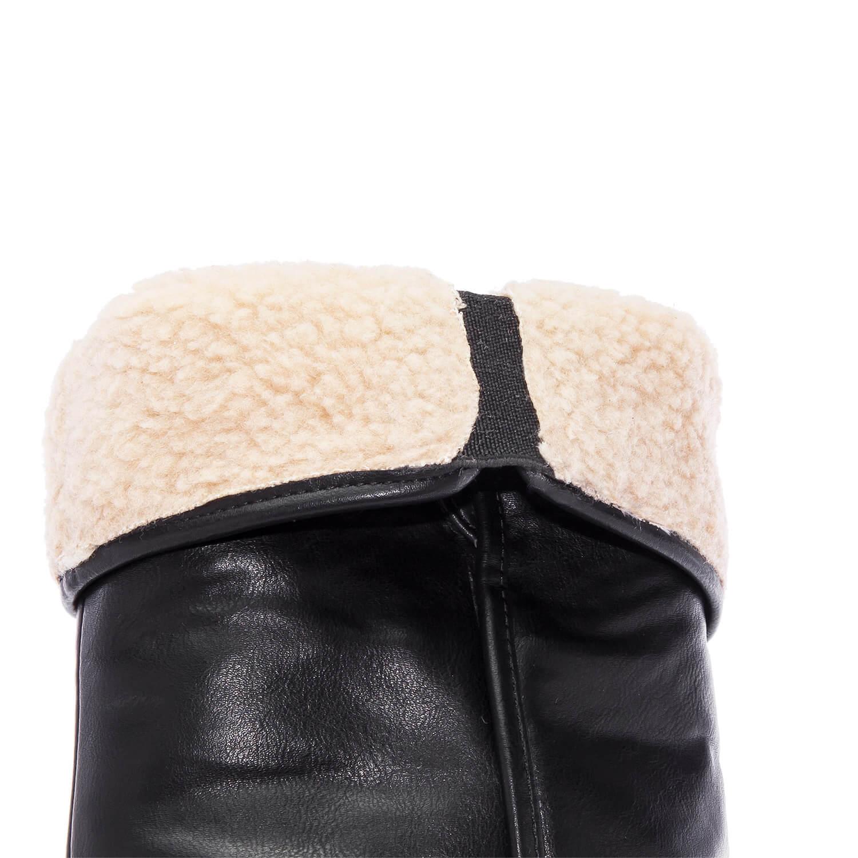 Botin de Caña Alta en Soft Negro