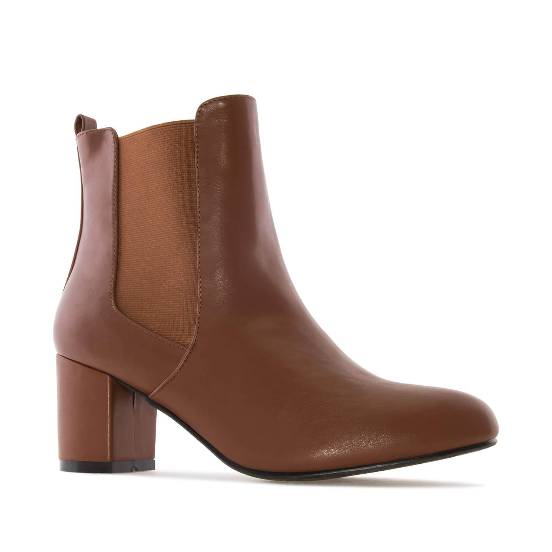 Čizme sa elastičnim trakama, braon