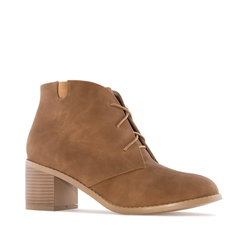 Duboke cipele na štiklu, smeđe