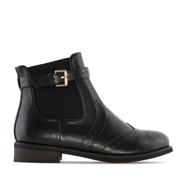 Kratke Chelsea čizme, crne