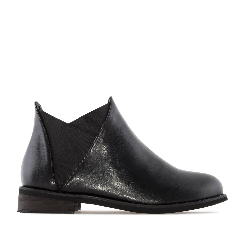 Botin en soft Negro con elastico