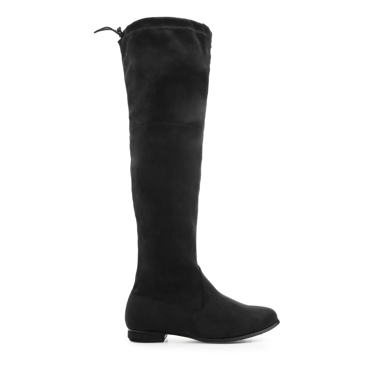 Duboke antilop čizme, crne