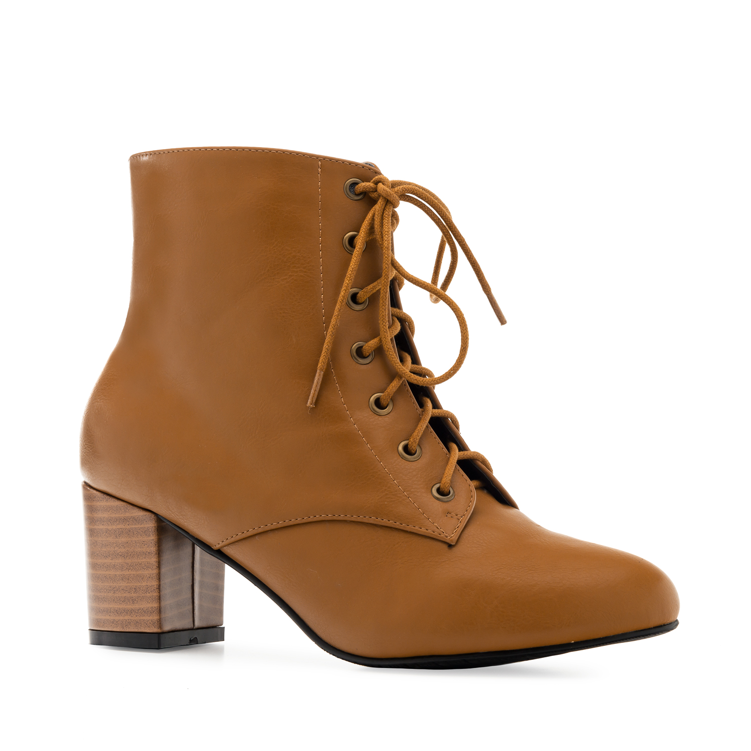 Bottines en Soft couleur Camel