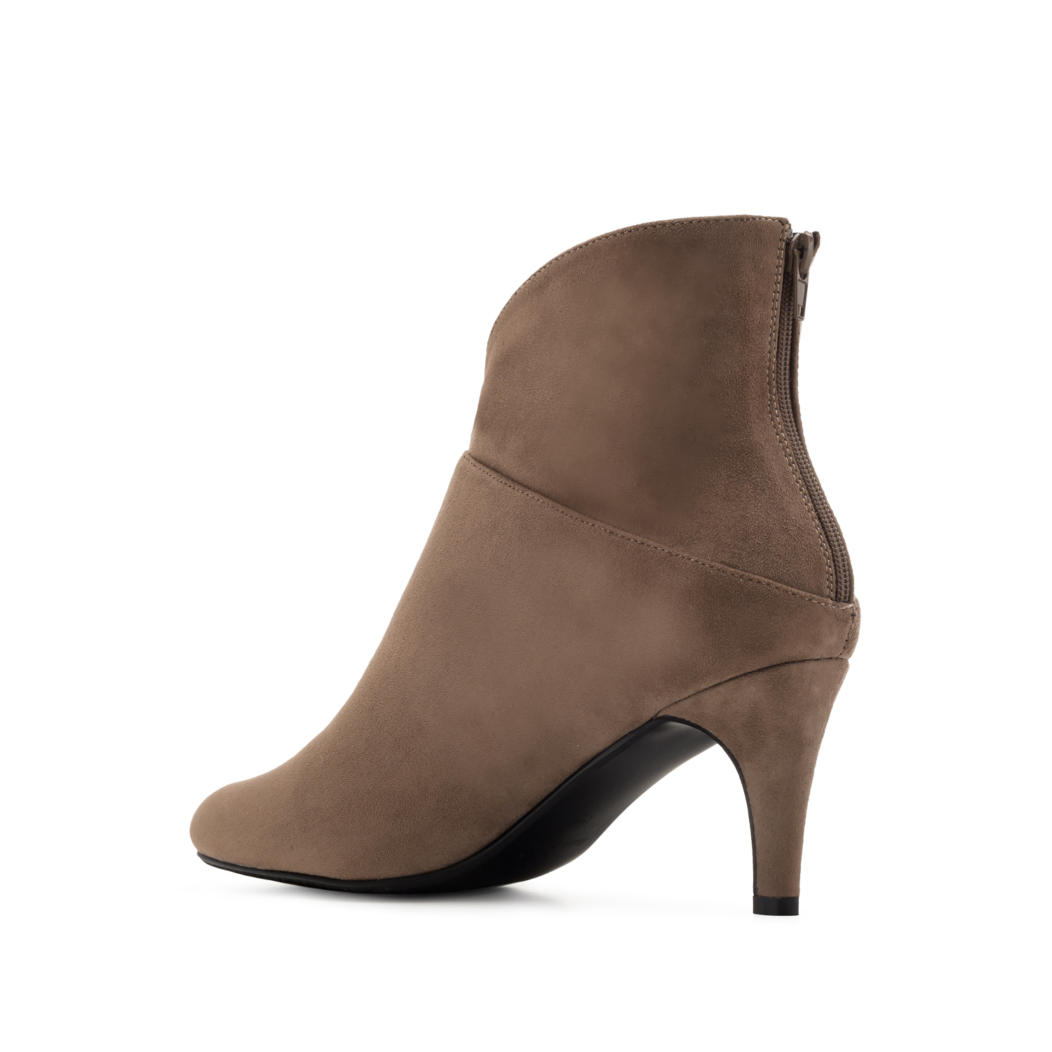 Bottines suèdine couleur Camel