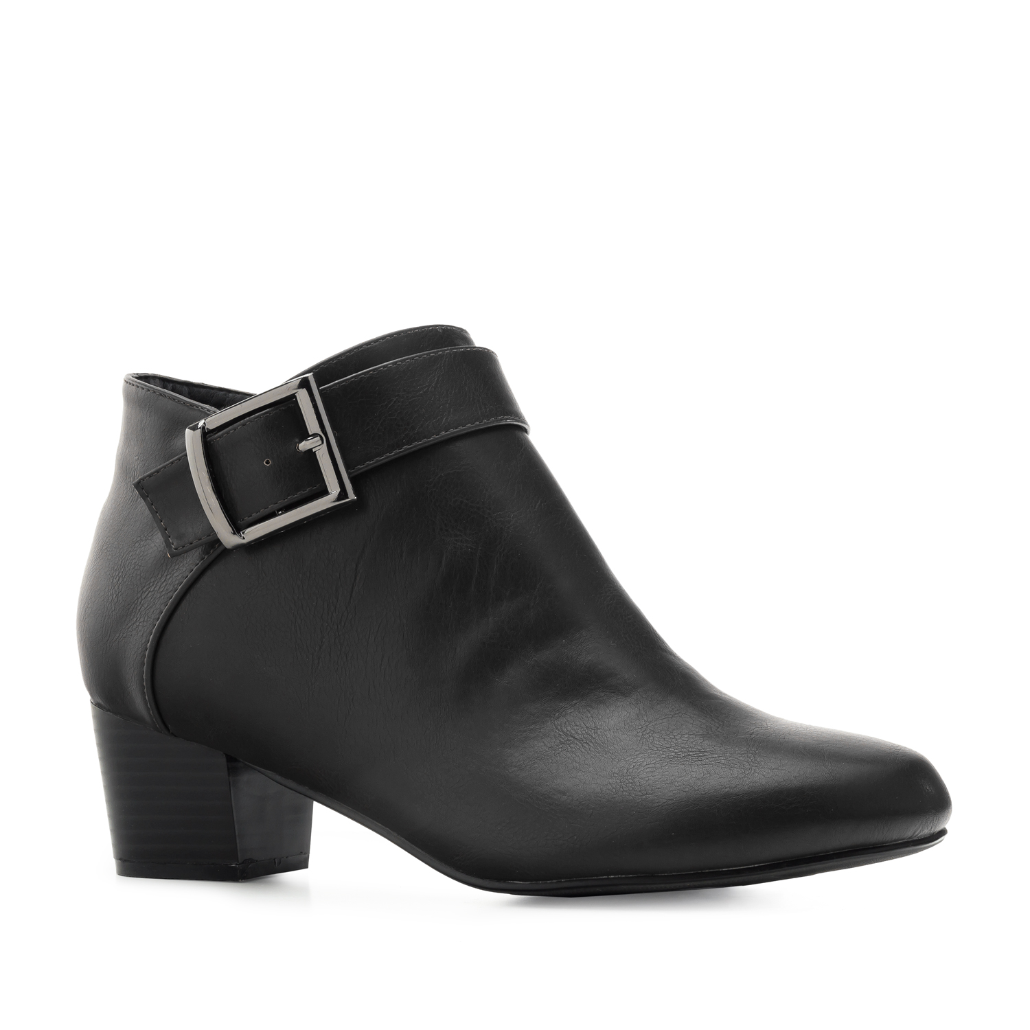 Ankle Boots in Soft-Schwarz