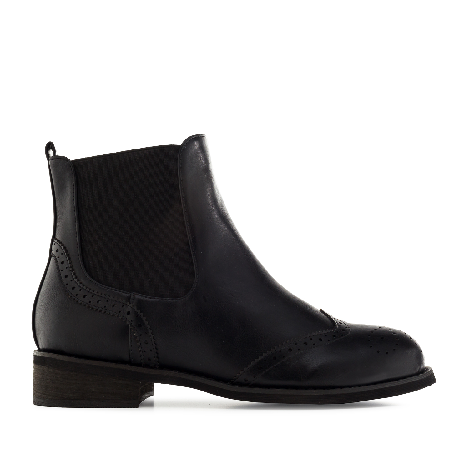Bottines Chelsea en Soft Noir