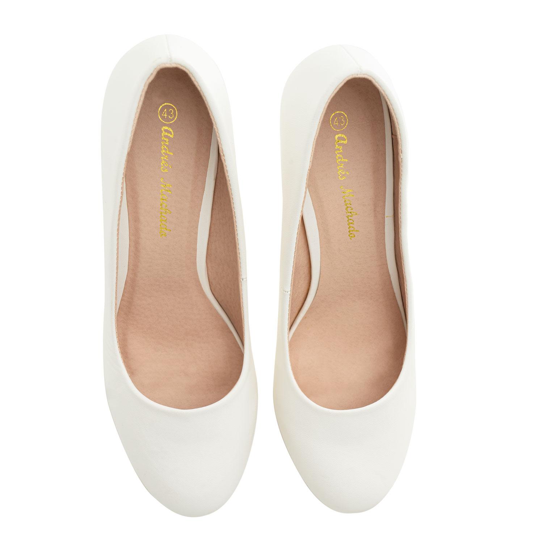 Escarpins Classiques Soft Blanc.