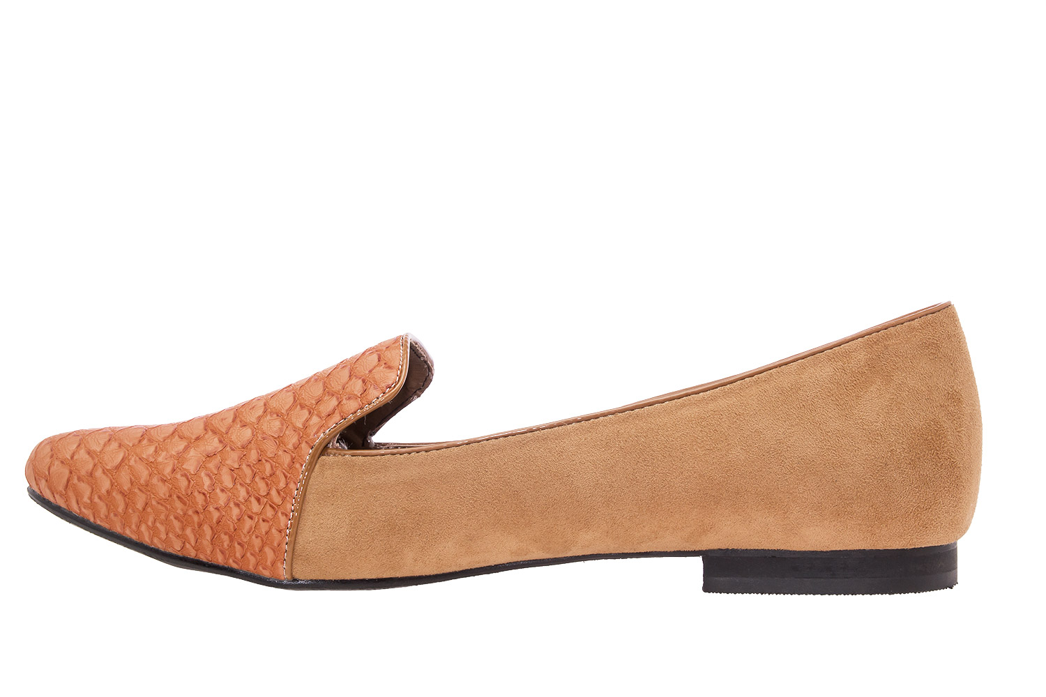 Slipper Serpiente Camel