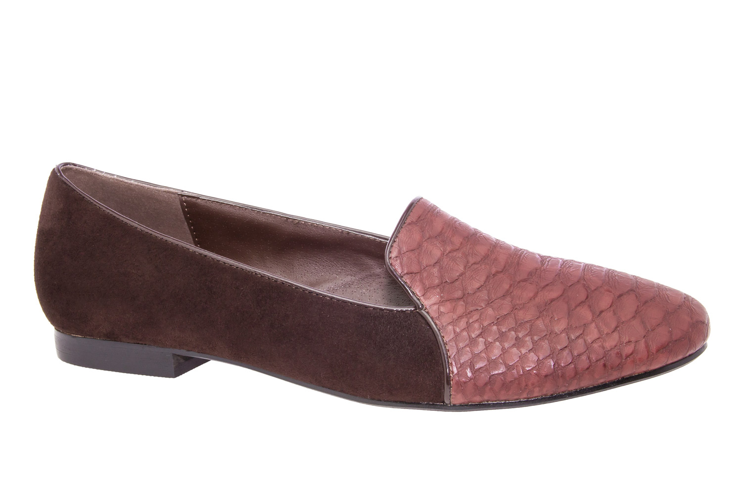Slipper Serpiente Marron