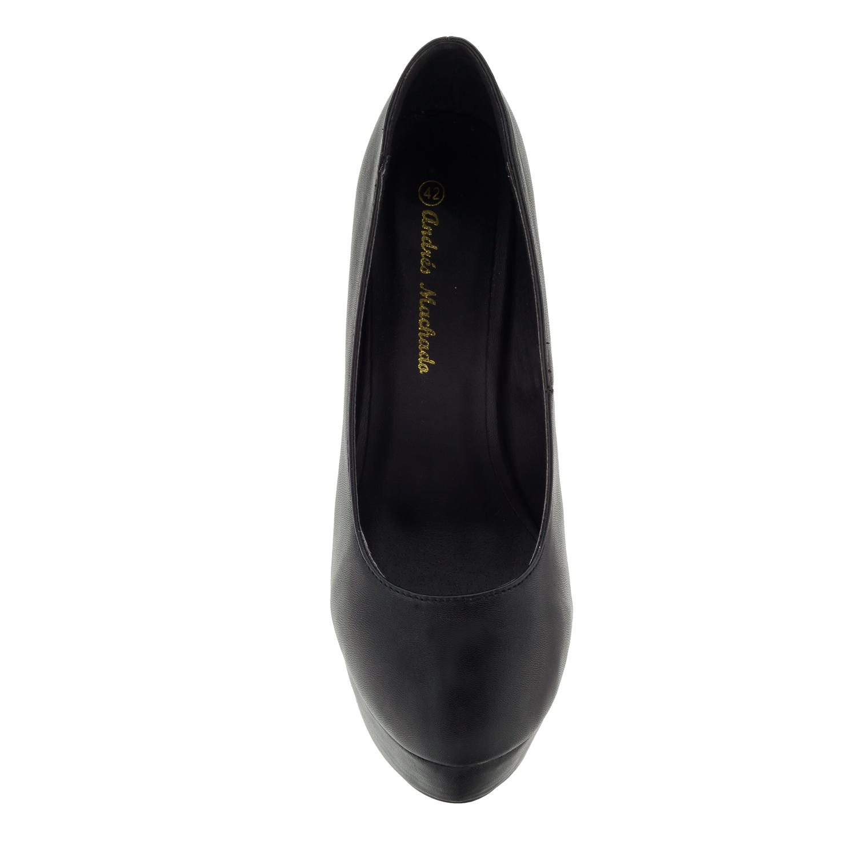 af3e043f667 Mustad pidulikud kingad, konts 14 cm - Naised, Suured numbrid ...