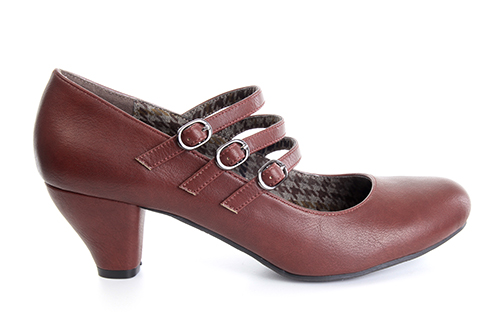Zapatos Mary Jane en Soft Caldera