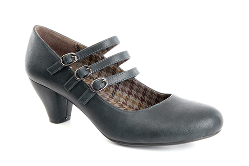 Zapatos Mary Jane en Soft Marino