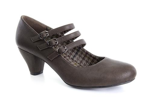 Zapatos Mary Jane en Soft Marron