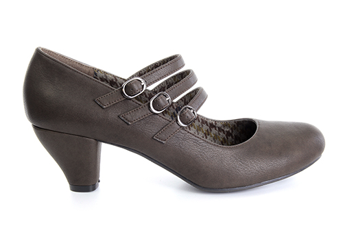 Zapatos Mary Jane en Soft Marron