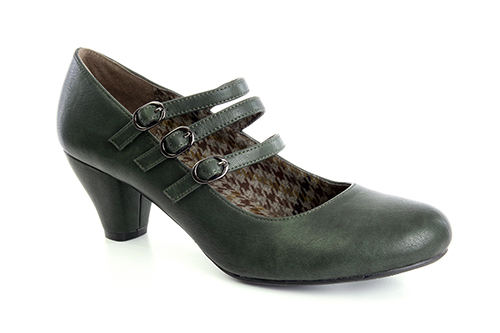 Zapatos Mary Jane en Soft Verde