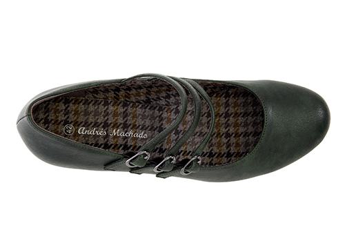 Zapatos Mary Jane en Soft Verde