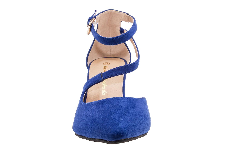 Antilop sandale sa niskom petom, plave