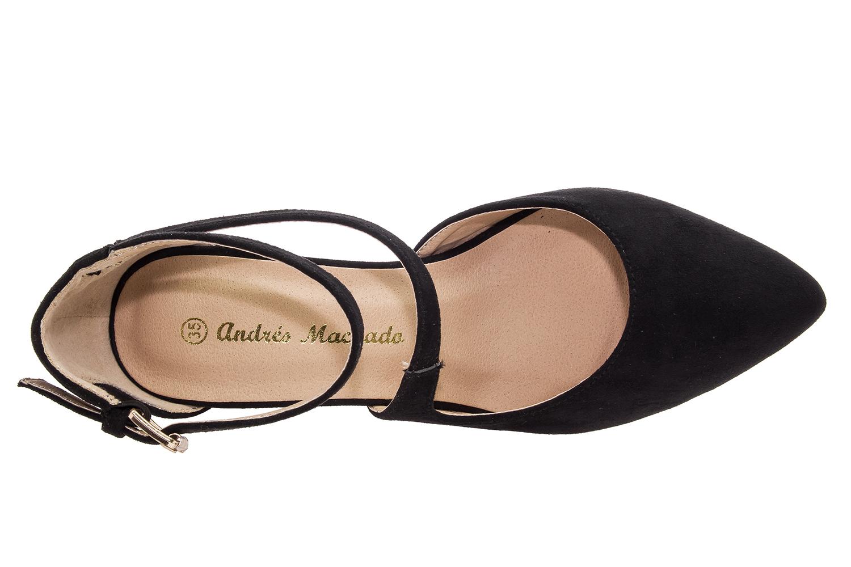 Antilop sandale sa niskom petom, crne