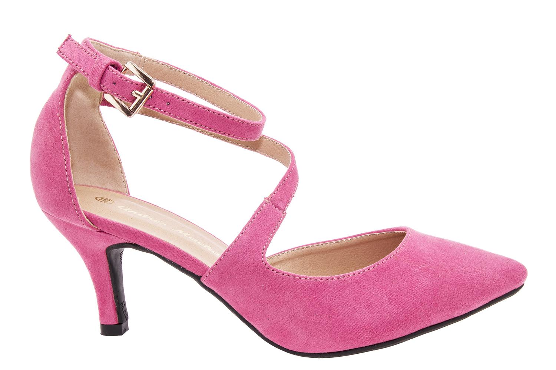 Antilop sandale sa niskom petom, svetlo roze