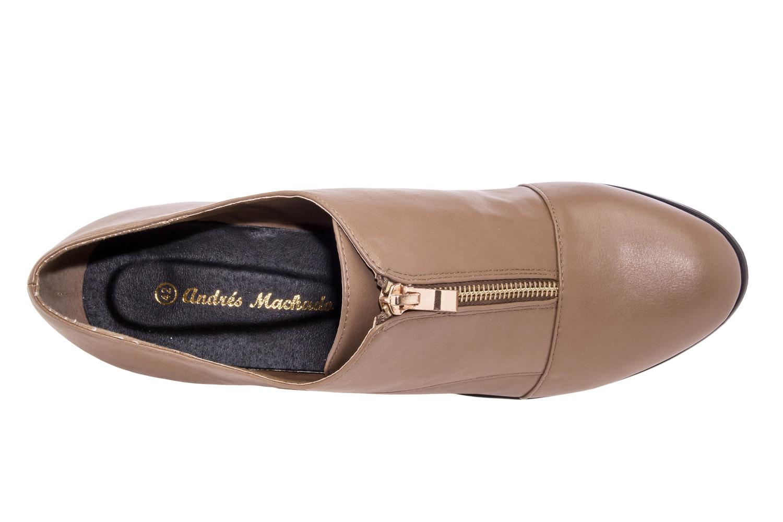 Zapato Abotinado Soft Camel
