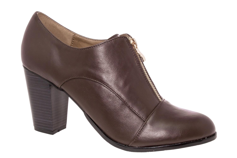 Zapato Abotinado Soft Marron