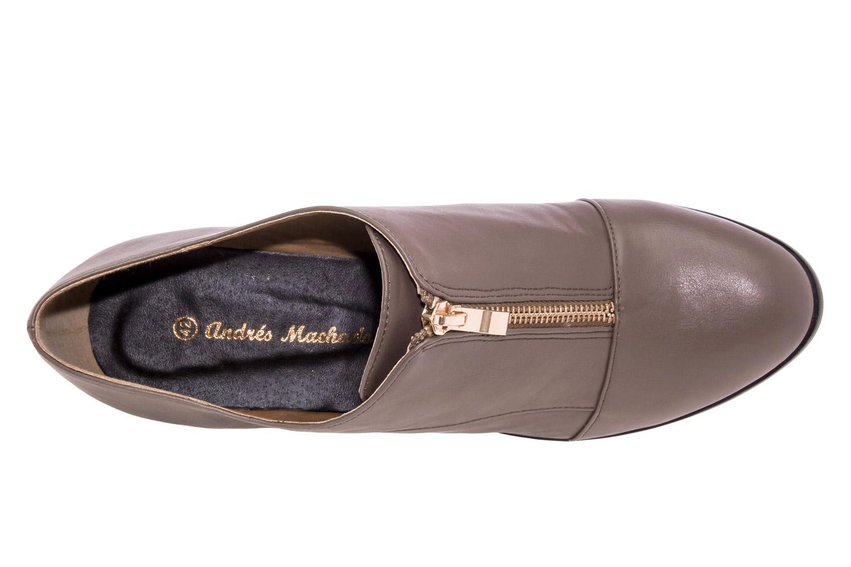 Zapato Abotinado Soft Taupe