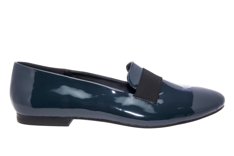 Slipper elastico Charol Azul