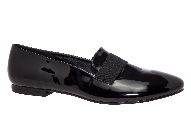 Slipper elastico Charol Negro