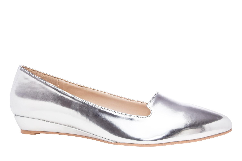 Baletanke u špic, soft srebrne