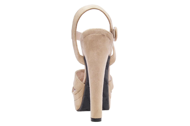 Antilop sandale na visoku štiklu, bež