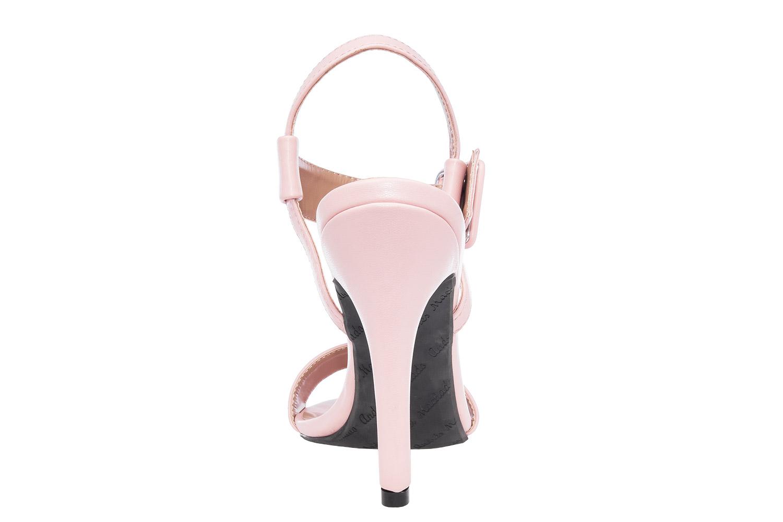 Elegantne sandale sa šnalom, soft svetlo roze