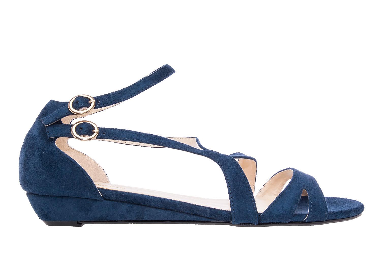Antilop sandale sa neobičnim kaiševima, plave