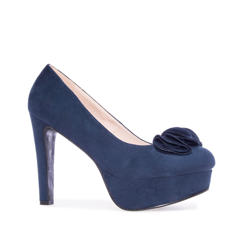 Antilop visoke cipele na platofrmu, plave