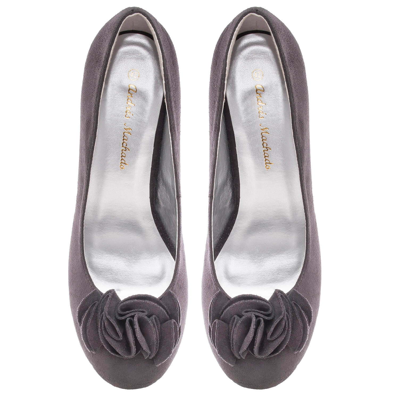 Antilop visoke cipele na platofrmu, sive