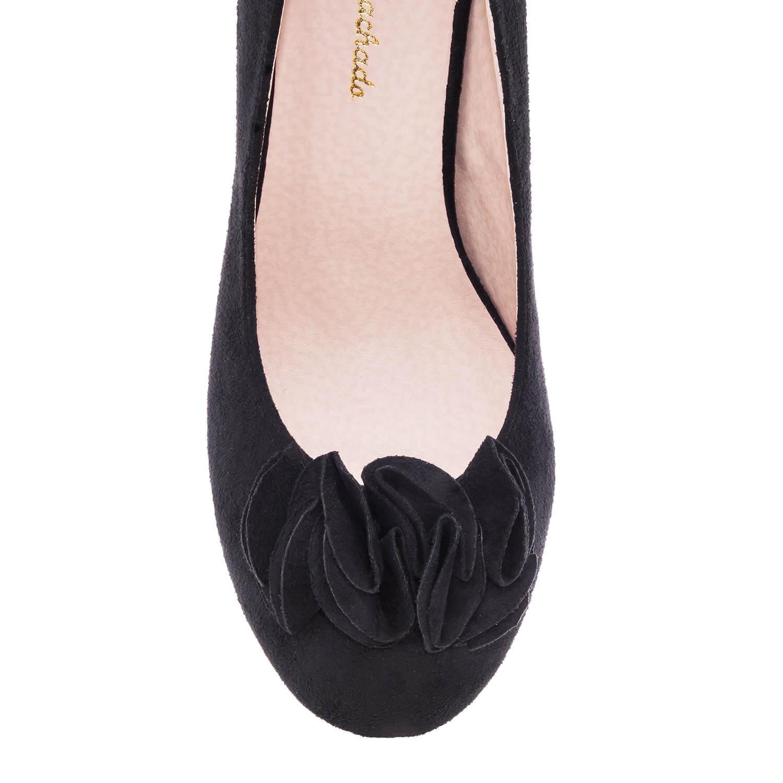 Antilop visoke cipele na platofrmu, crne