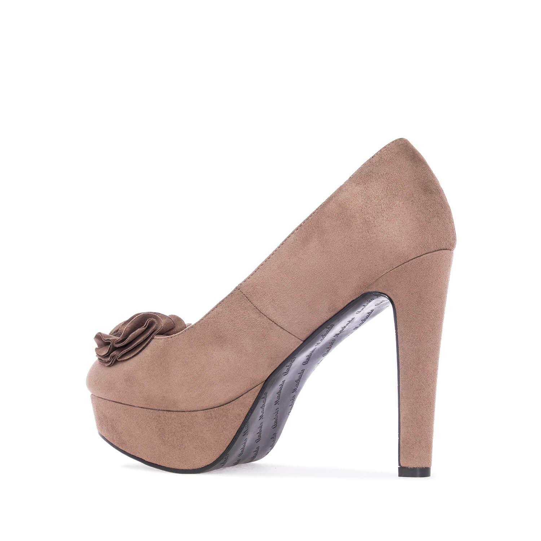 Antilop visoke cipele na platofrmu, svetlo braon