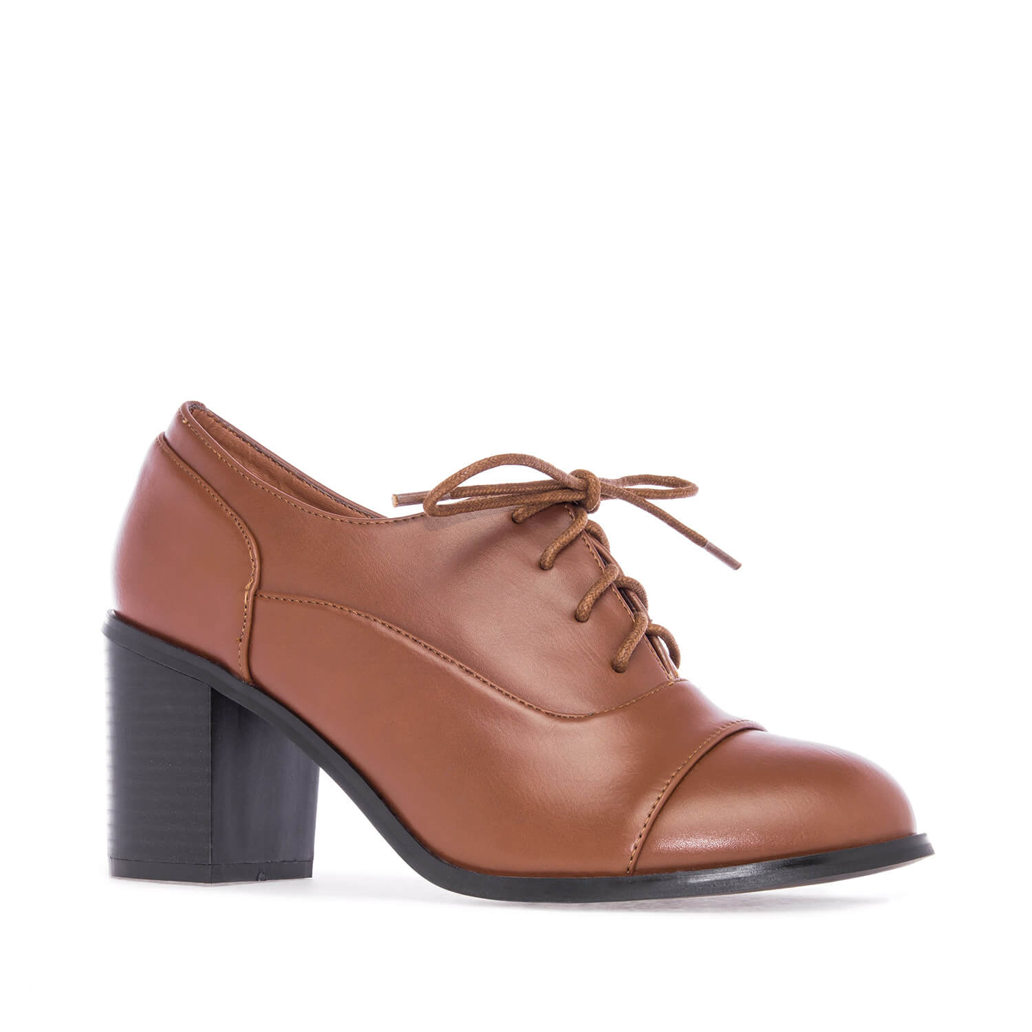 Zapatos Oxford en Soft Marron