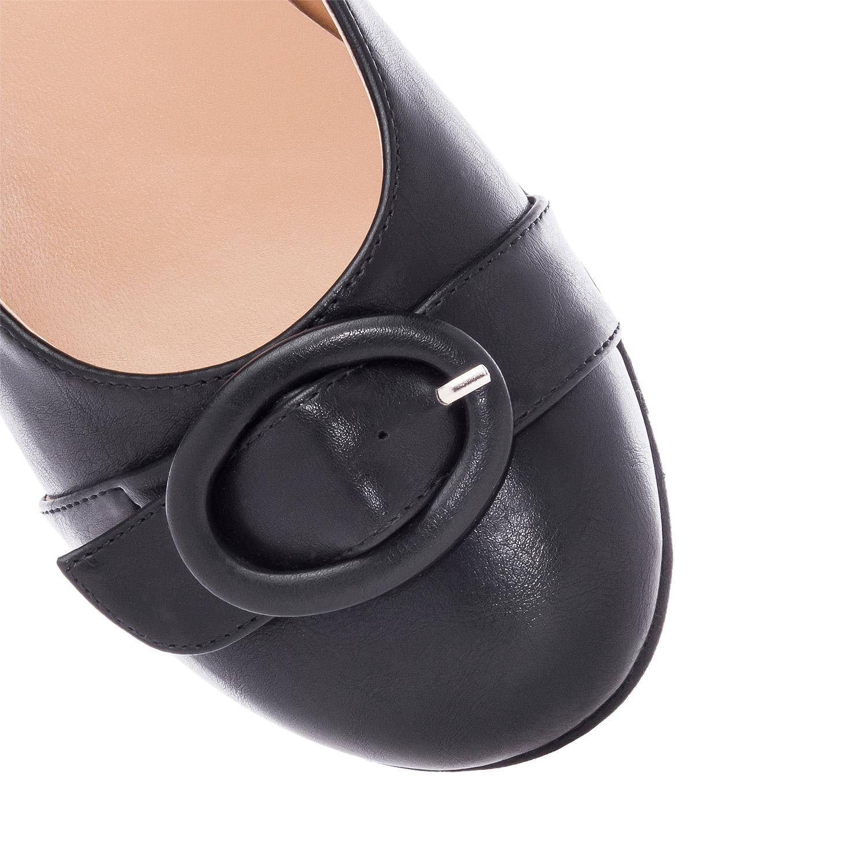 Baletanke sa gumenim đonom, crne