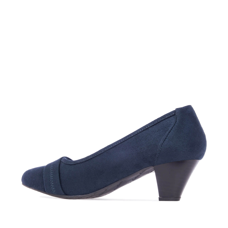 Zapatos en Ante Azulon