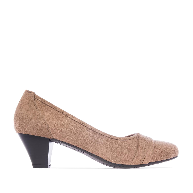 Zapatos en Ante Tostado